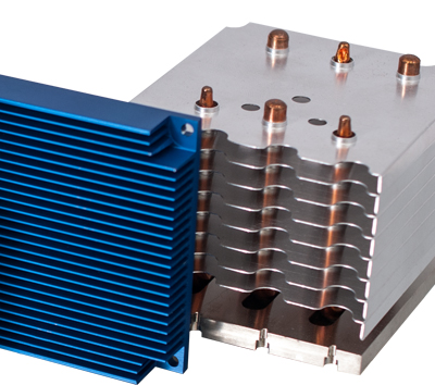 Heatsinks for industrial applications