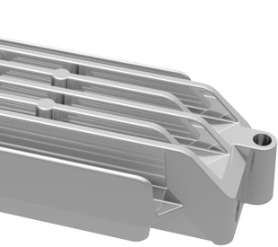 Die-casting heatsinks